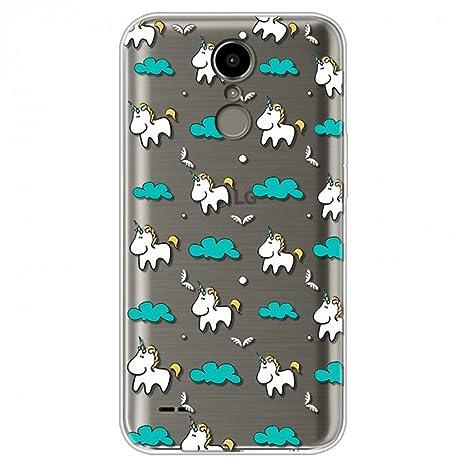 Amazon.com: KCHHA Phone case for LG K10 2017 Case Cover for ...