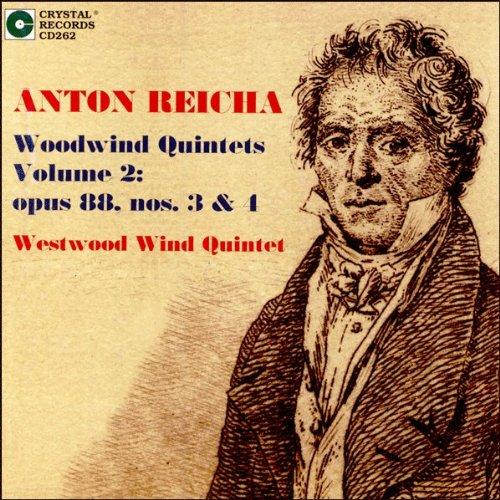 Anton Reicha Woodwind Quintets Vol. 2, op. 88, nos. 3 & 4
