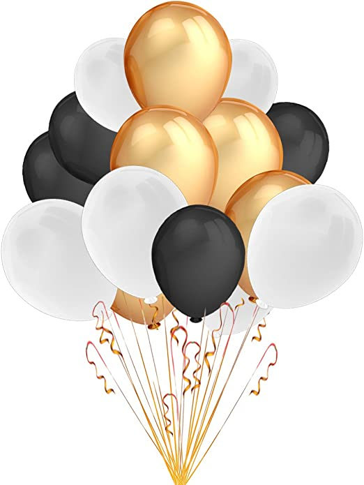 """Pack of 25 9/"""" 100/% Latex Decorative Balloons Party Event Celebration Supply"""