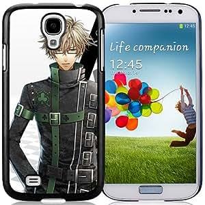 Custom Anime Amnesia Kent Boy Brunette Glasses Shadow Samsung Galaxy S4 I9500 i337 M919 i545 r970 l720 cell phone case