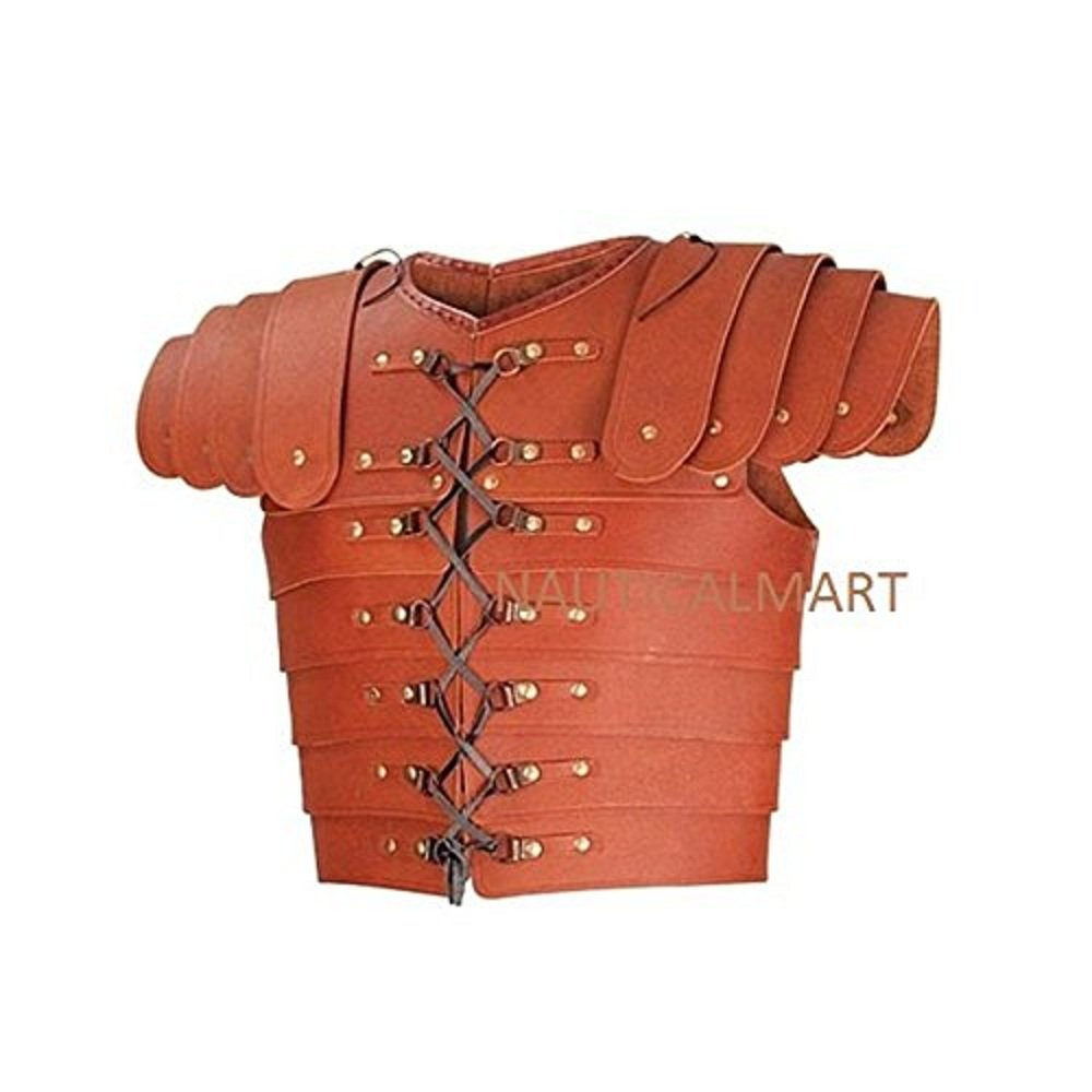 NAUTICALMART Medieval Roman Leather Lorica Segmentata Armor by NAUTICALMART (Image #1)