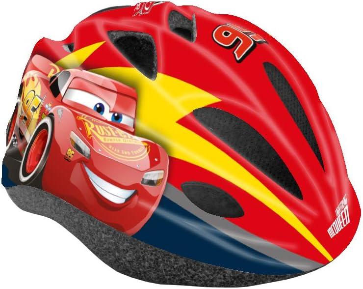 Disney Cars 3 - Casco de Ciclismo para niño, Rojo, S (52-56 cm)