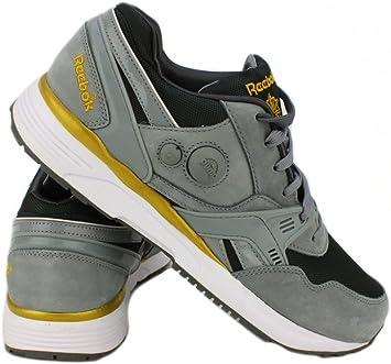 Reebok Pump Running Dual Zapatillas Sneakers Gris para Hombre: Amazon.es: Zapatos y complementos