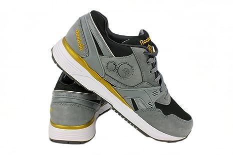 Reebok Pump Running Dual Scarpe Moda Sneakers Grigio per