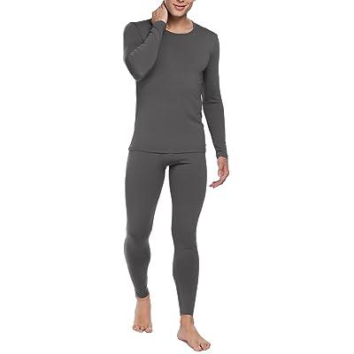 2f0e0a2da Lufore Men's 2pc Long John Underwear Cotton Blend Thermal Sets S-XXL ...