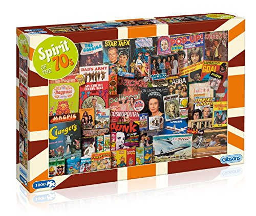 Gibsons Spirit of The 70s Jigsaw Puzzle, 1000 Piece]()
