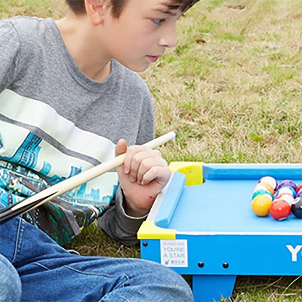 WJMLS 4 en 1 Multi Juego de Mesa para niños Actividades de Interior con Mesa de Tenis de Billar Hockey de futbolín: Amazon.es: Juguetes y juegos