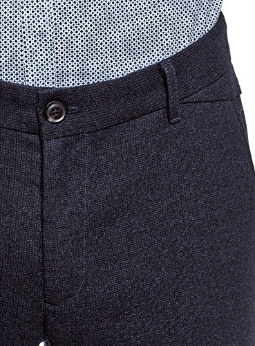 Pantalon Décoratif Ultra En Bleu Épais Tissu Détail Homme Oodji Avec 7929o nTwPSq7dPF