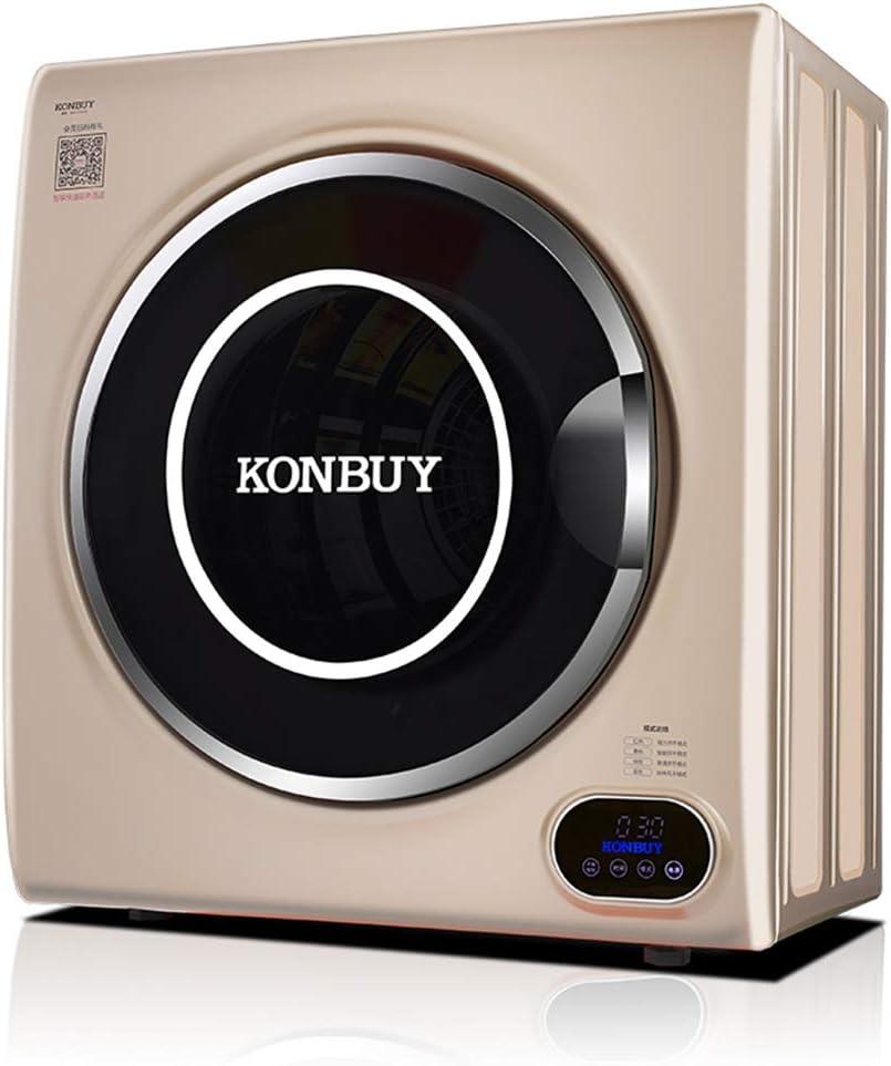 Secadora De Condensador Blanca Independiente De 5 Kg con Clasificación Energética B, Función De Temporización, Secado por Sensor Y Cromado