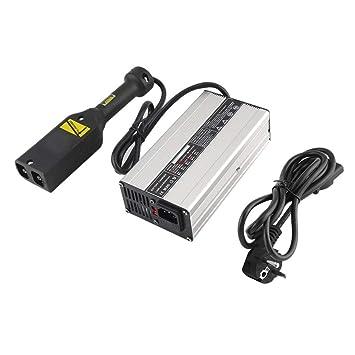 Monllack 36V 5A Cargador de batería de Carga del Dispositivo, Compacto Duradero Carro de Golf
