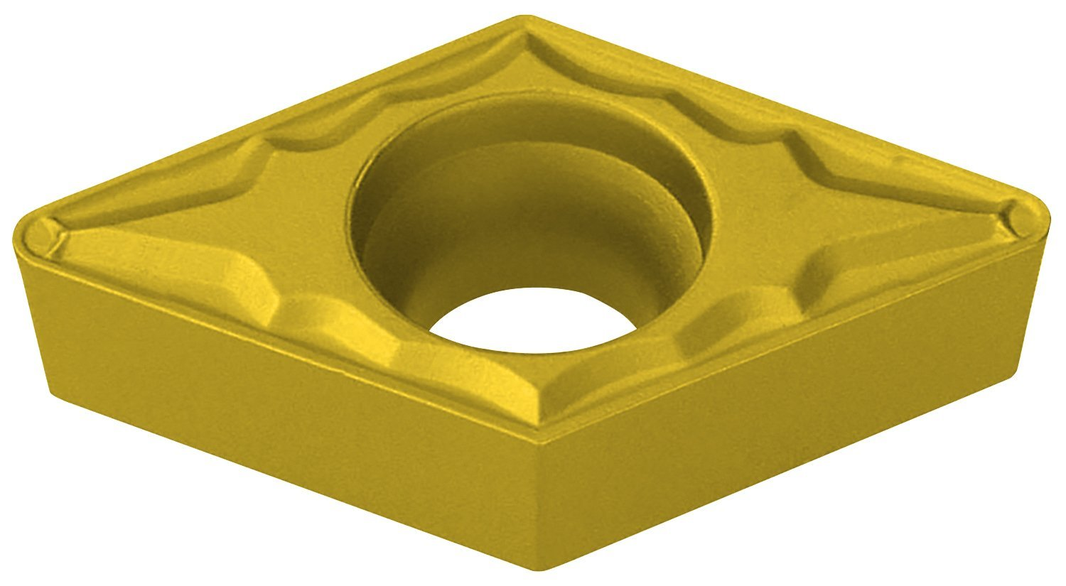 7 Degree Positive Clearance Angle Ultra-Dex DCMT 32.52 UD51 55 Degree Diamond Insert 5//32 Thickness 0.031 Corner Radius Pack of 10 0.375 Inscribe Circle Size UD51 Grade