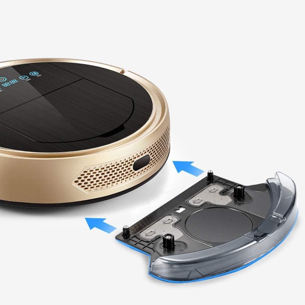 LCL Chun Li Aspiradoras Robot, Oro tirano Doble Sistema de detección con un Gran Barrido de succión y Arrastre Integrados máquina de Limpieza automática Inteligente Robot Aspirador (Color : Gold): Amazon.es: Hogar