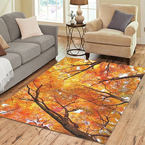 Autumn Maple Tree Rug