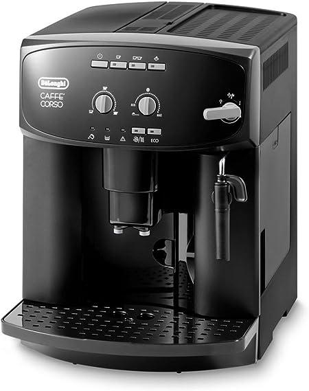 DeLonghi Caffè Corso ESAM 2600 Independiente Máquina espresso 1,8 L Totalmente automática - Cafetera (Independiente, Máquina espresso, 1,8 L, Molinillo integrado, 1450 W, Beige): Amazon.es: Hogar
