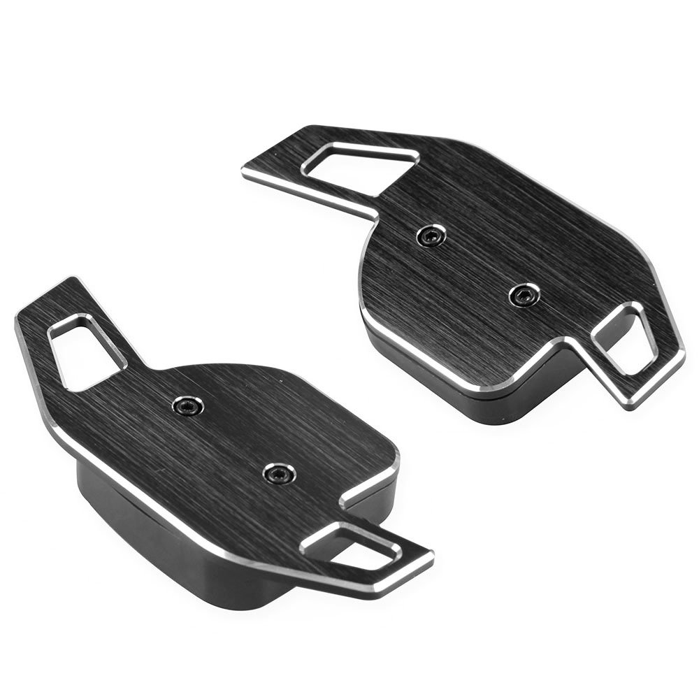 BEESCLOVER Aluminum Paddle Shift Extensions for Audi A1-A7//Q5 Steering Wheel Gear Shifters