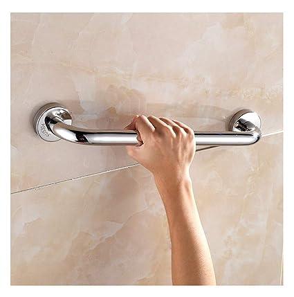Barra de toalla de acero inoxidable, barandilla de la bañera del cuarto de baño sin