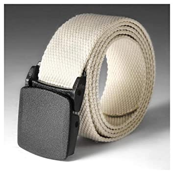 Military Belt Casual Grade Polymer Male Belt Automatic Nylon Buckle Fashion