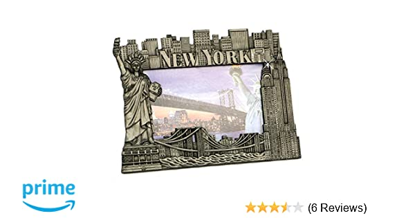 Amazon.com - New York Picture Frame - Pewter, New York Picture ...