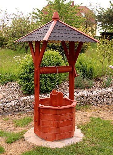 Fuente madera, Fuente ornamental, Fuentes de jardín tratados de Klein hasta Maxi - Maxi: Amazon.es: Jardín