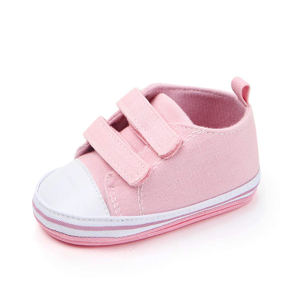 UWESPRING Unisex Baby Sneaker Velcro Rubber Sole with Socks