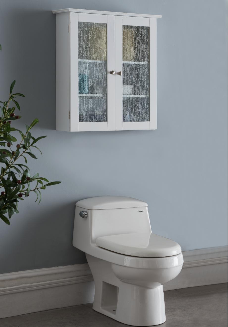 Amazon.com: Kings Brand Furniture – Bathroom Double Glass Door Wall ...
