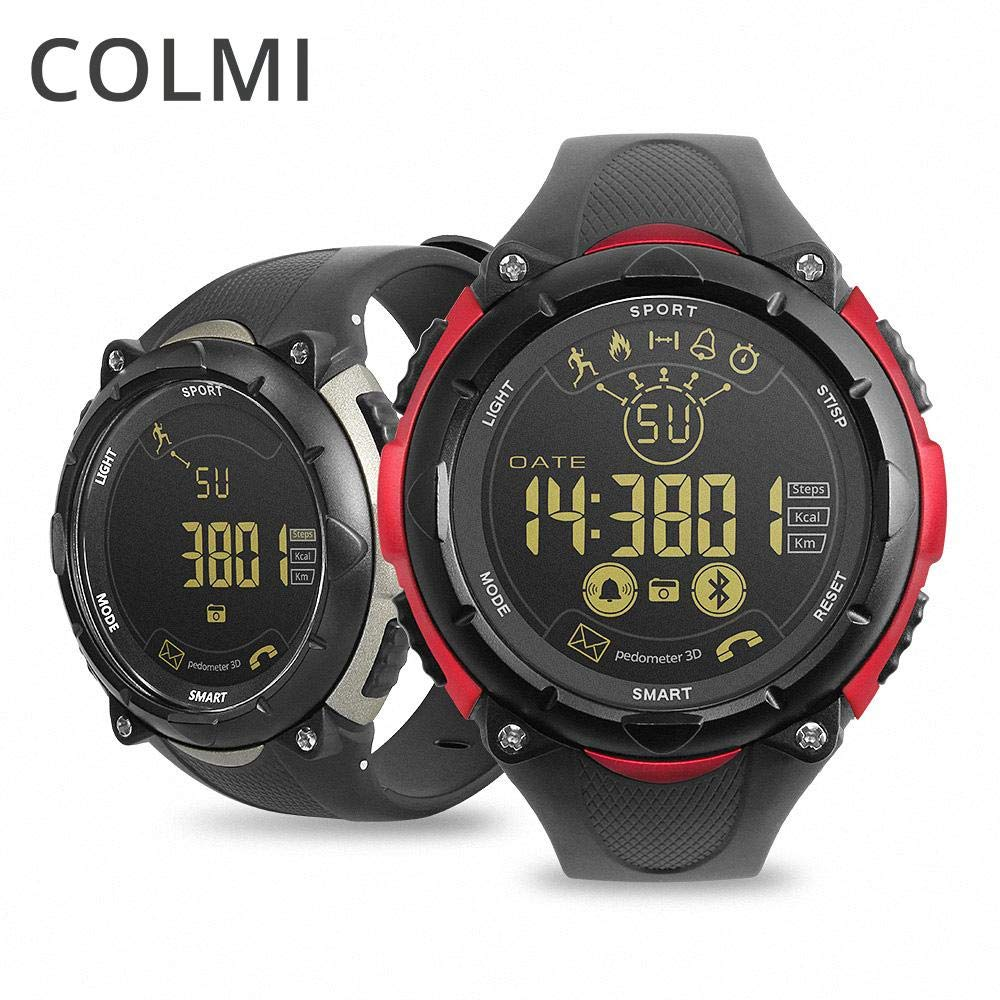 colmi s7 Reloj Inteligente 50 Metros, Resistente al Agua, 33 Meses ...