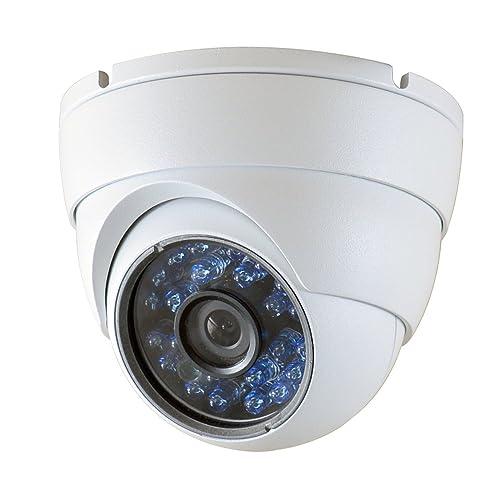 "Walolo Analog HD 1080p CCTV Camera, 2MP HD-TVI / AHD / CVI / 960H 1000TVL 1/2.9"" Sony Cmos Dome Security Camera Outdoor 24 IR-Led Day Night Vision 3.6mm Lens Wide Angle Video Surveillance Cameras System"