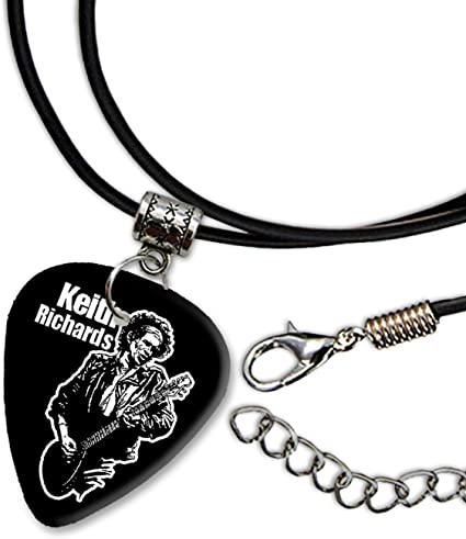 Keith Richards Rolling Stones Diseño 3 Guitarra Plectrum Cord ...