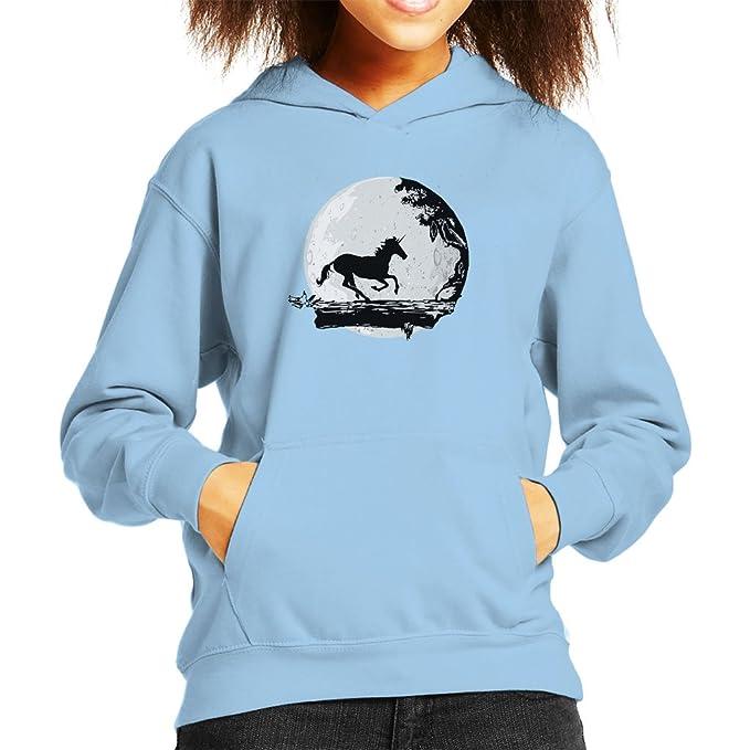 Cloud City 7 Unicorn Hakuna Matata Mix Kids Hooded Sweatshirt
