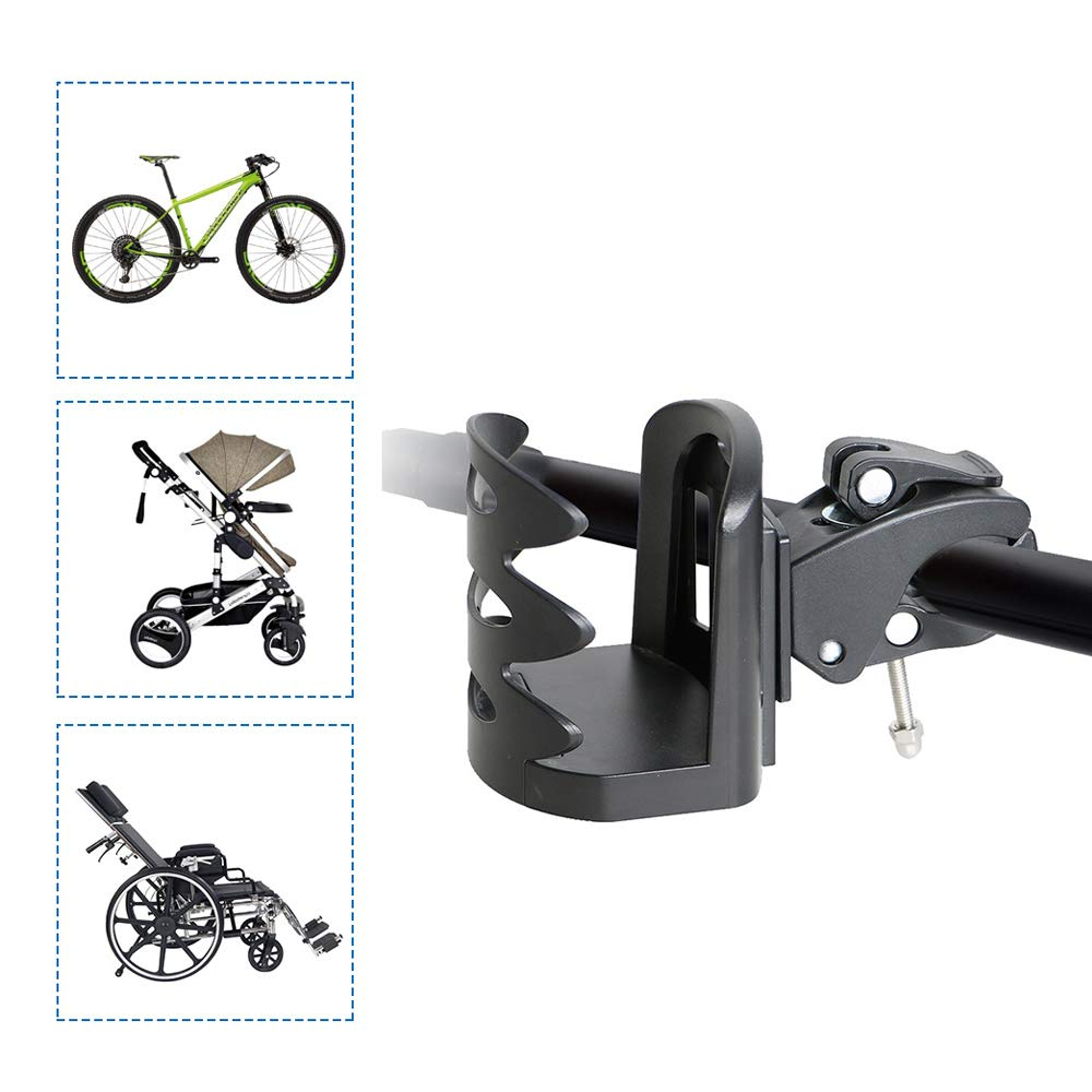 Portavasos para la mayor/ía de los cochecitos Sillas de ruedas Rollers Bicicleta. Portavasos para cochecito