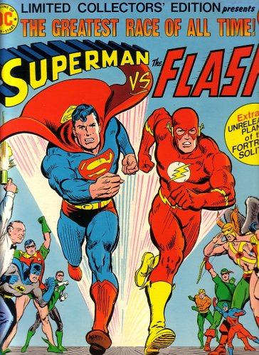 Superman Vs the Flash, Limited Collectors Edition, Vol 5, #C-48 (Oversized Book)