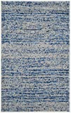 Cheap Safavieh Adirondack Collection ADR117D Blue and Silver Contemporary Area Rug (2'6″ x 4′)