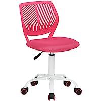 Aingoo Chaise de Bureau Enfant Jolie Chaise sans Bras Ordinateur Étudiant Chambre Hauteur Réglable