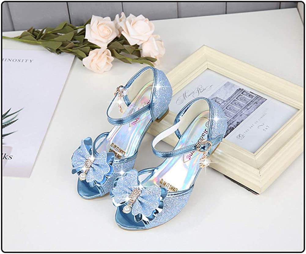 YYZHAO Girls Party Shoes Glitter Sequins Mary Jane Princess Shoes Blue-EU 29//12 M US Little Kid .jpg