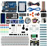 DingMai UNO R3 Super Starter Kit with Multilingual Comprehensive Tutorials and Professional Support for Arduino UNO Project (49 items)