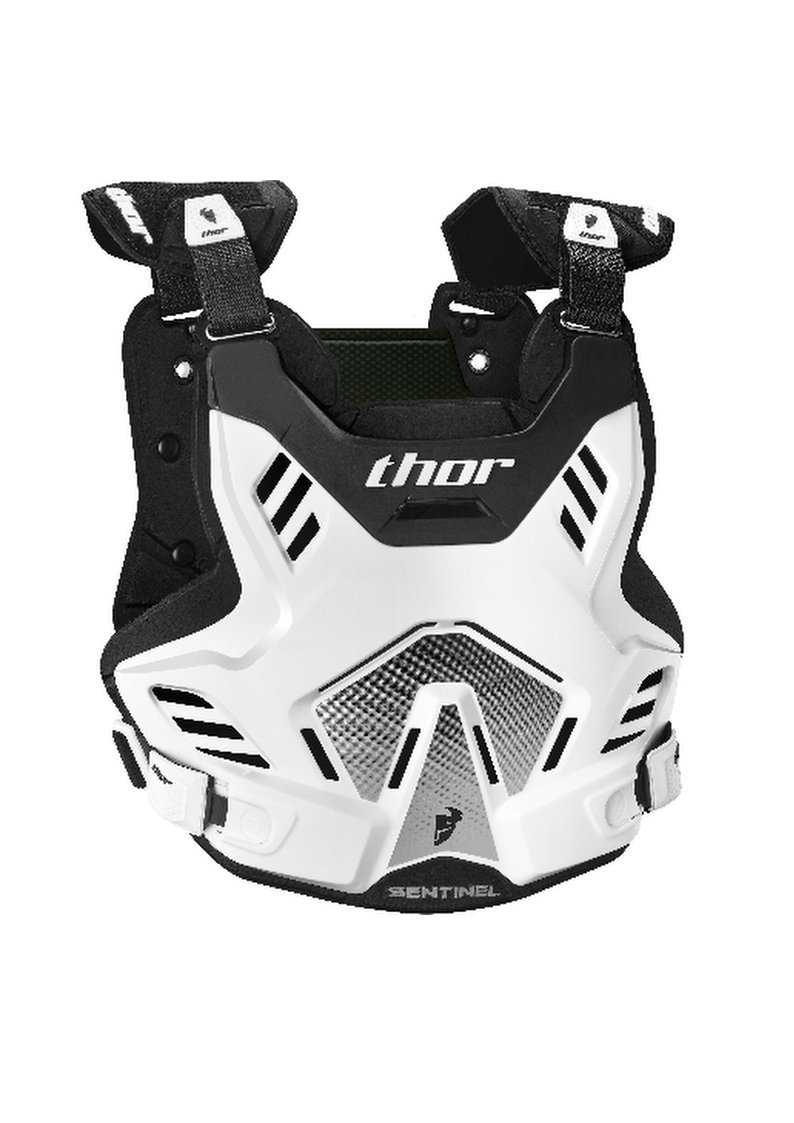 Thor Sentinel GP Motocross Body Armour Adult White