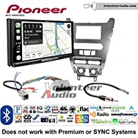 Volunteer Audio Pioneer AVIC-W8400NEX Double Din Radio Install Kit with Navigation, Apple CarPlay and Android Auto Fits 2008-2011 Focus