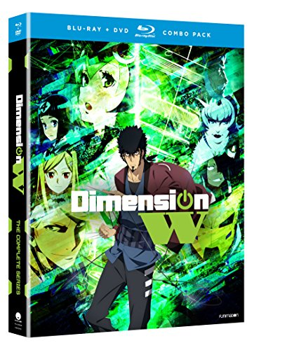 Blu-ray : Dimension W: The Complete Series (With DVD, Boxed Set, , 4 Disc)