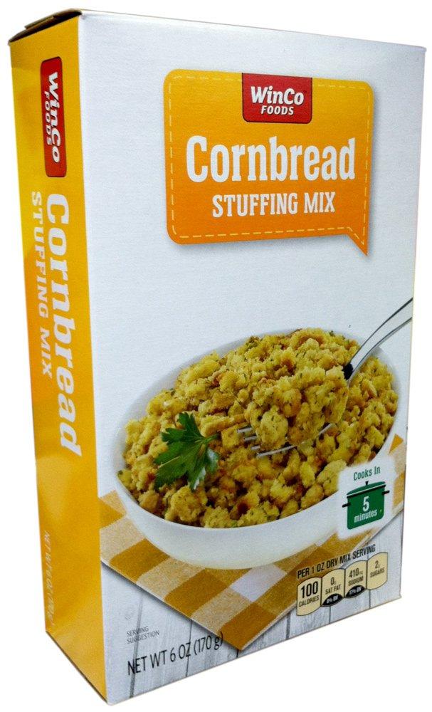 Winco Foods CORNBREAD STUFFING MIX 6oz (12 Pack)