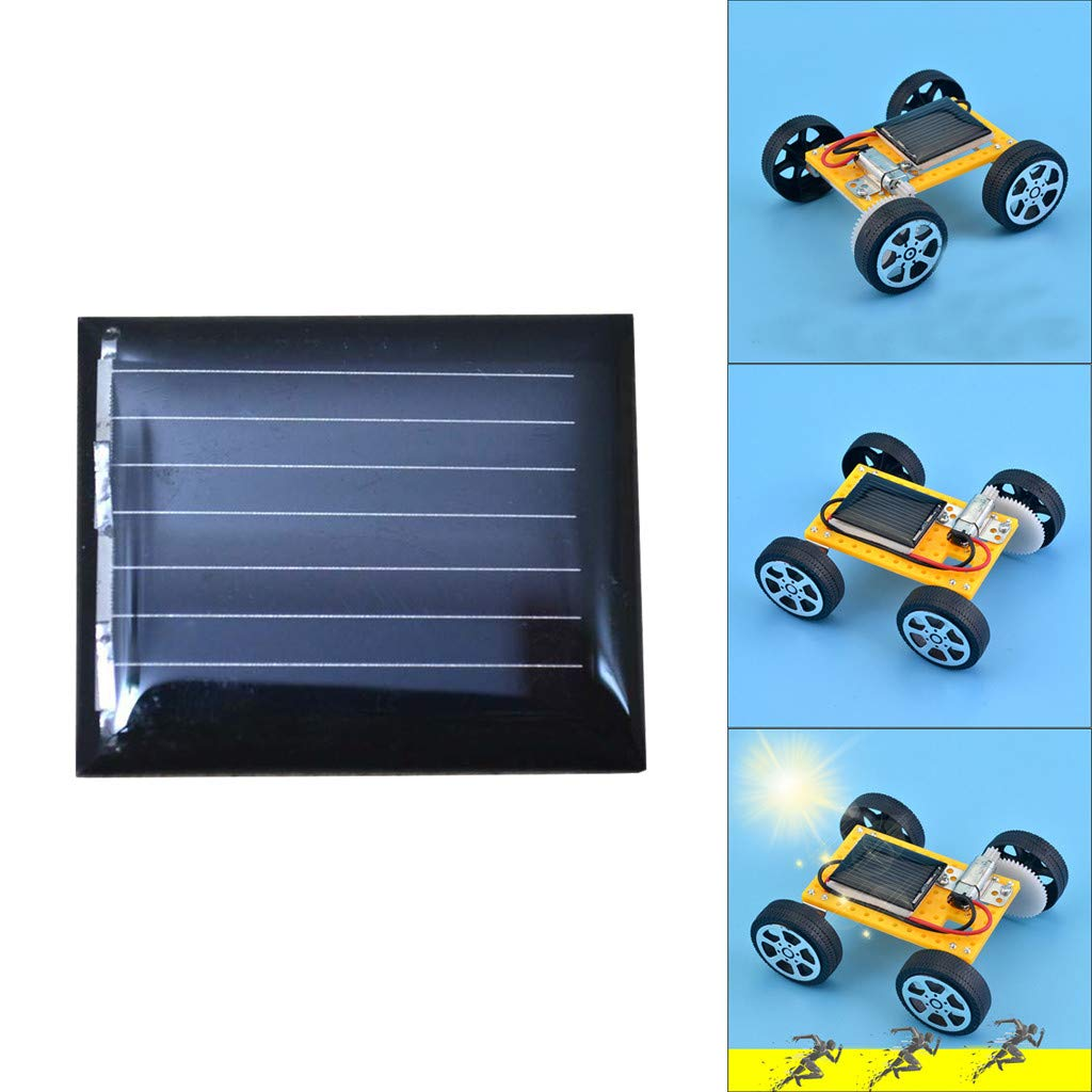 callm DIY Mini 30x25MM 1V Power Solar Cells Solar Panels for Mini Solar Powered (Multicolor)