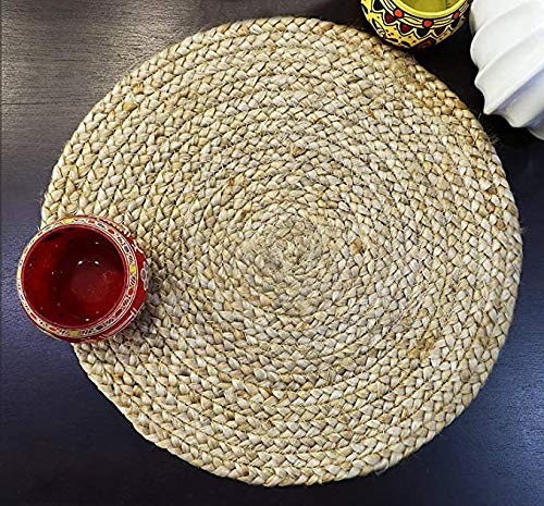 Heat Resistant Dining Table Runner for Dining Table & Place mats – 8 Pcs Set