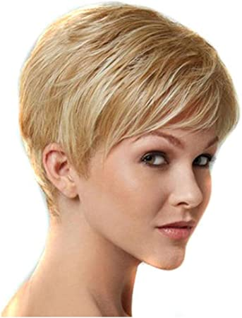 InKach Blonde Short Wig, Female Women Short