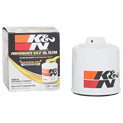 K&N Premium Oil Filter: Designed to Protect your Engine: Fits Select INFINITI/MAZDA/NISSAN/SUBARU Vehicle Models (See Product Description for Full List of Compatible Vehicles), HP-1008: Automotive