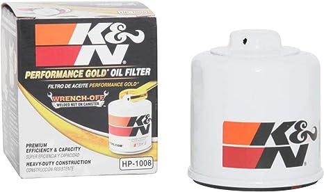 K/&N Filters HP-2001 Car Oil Filter