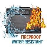 Mavii Fireproof Bag, Fireproof, Water Resistant Document, Safe Storage (Included Shoulder Strap)