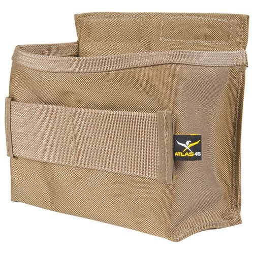 Atlas 46 AIMS Horizontal Fastener Pouch Coyote | Work, Utility, Construction, and Contractor
