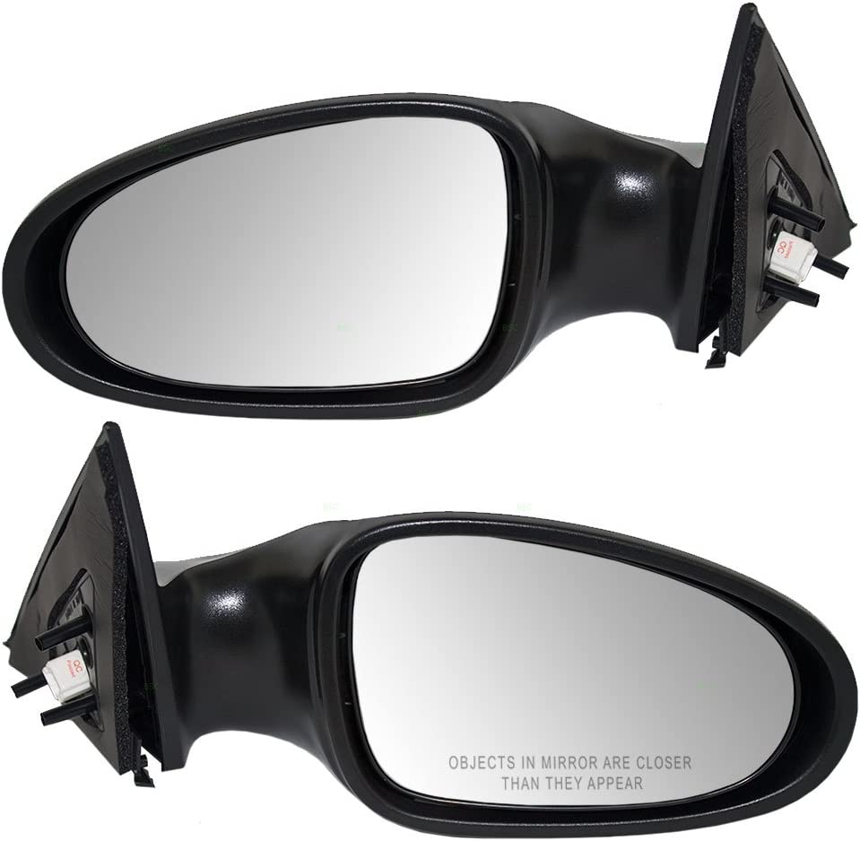 Power Heated Non-Folding Rear View Door Mirror Left Driver Side For 02-04 Altima