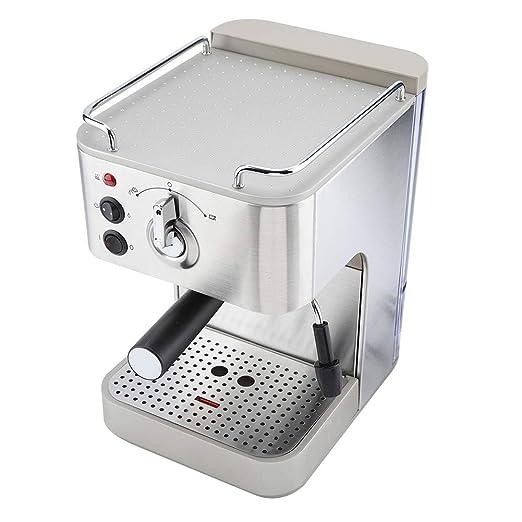 Cafetera, Cafetera semiautomática de capuchino de acero inoxidable ...