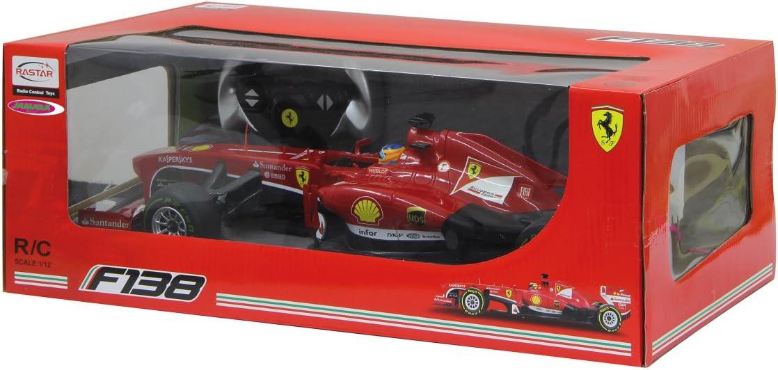 Jamara Ferrari F1 in 1:12 RC Ferngesteuert Auto Jamara 403090   .