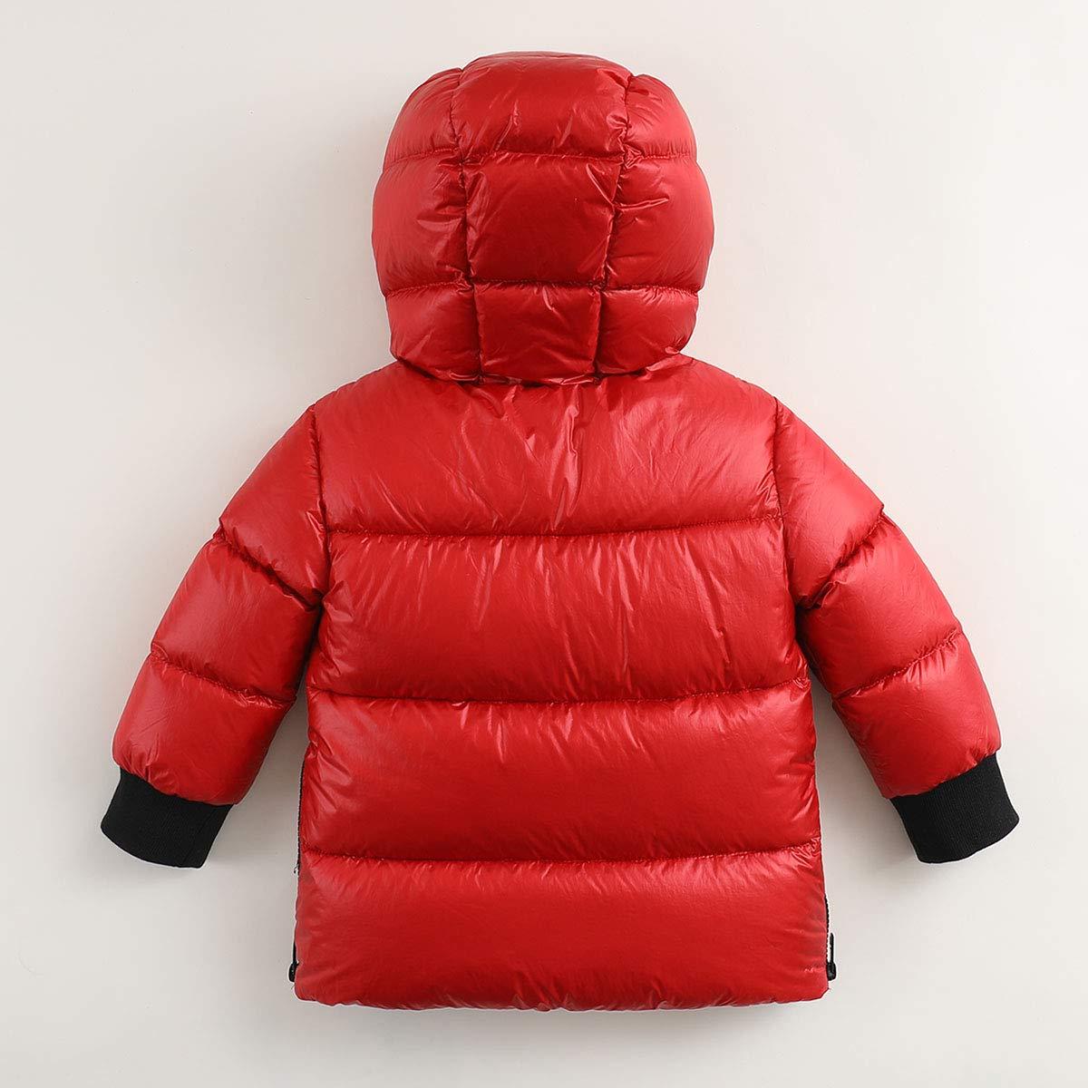 marc janie Boys Winter Thick Ultra Light Down Jacket